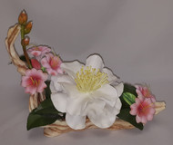 "Boehm ""White Empress Camellia With Azalea"" 30109"