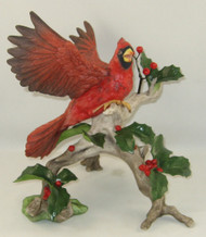 "Boehm ""Cardinal With Holly"" 40446"
