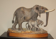"Boehm ""African Elephant With Calf"" 500-6"