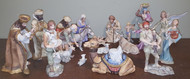 "Boehm ""Nativity / Complete 19 Piece Decorated-Colored Set"" BSB1 - BSB17"