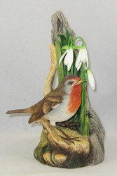 """Boehm """"Robin With Snowdrops"""" 200-39"""