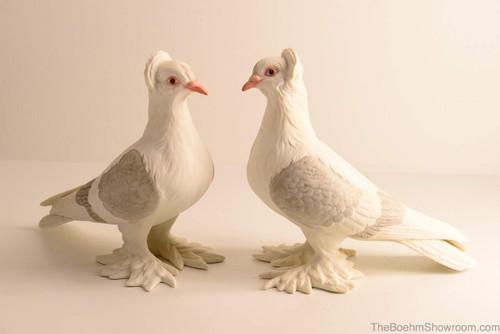 Boehm Tumbler Pigeons Hallmark 416