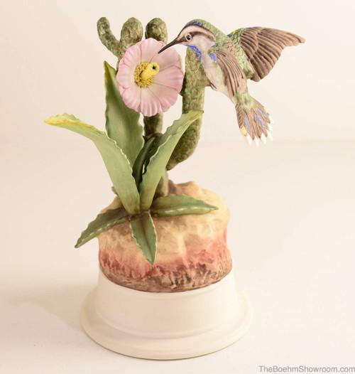 Boehm Hummingbird On Cactus Hallmark 440