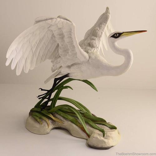 Boehm Great Egret-Audubon Hallmark 40221