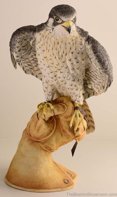 Boehm Peregrine Falcon On Glove Hallmark 10207