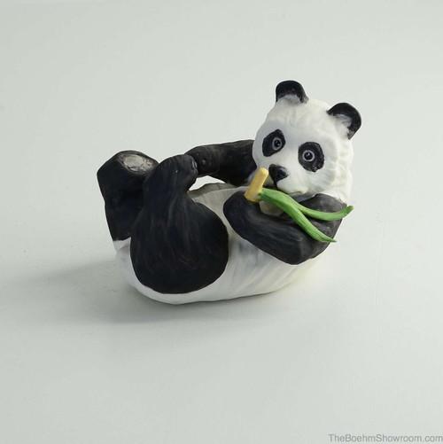Boehm Panda Resting Hallmark 40238