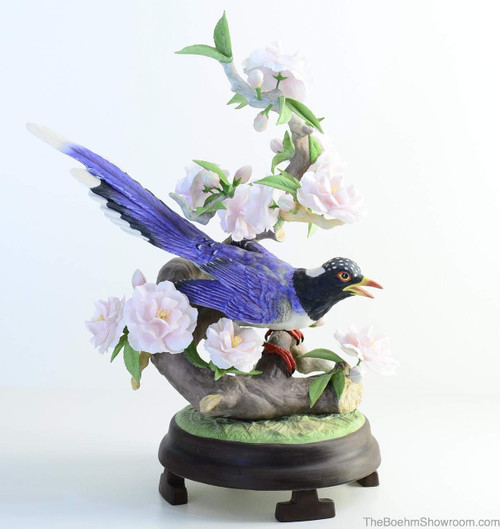 Boehm Red-Billed Blue Magpie Hallmark 40447