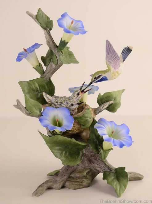 Boehm Blue-Throated Hummingbird Hallmark 40476