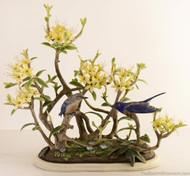 Boehm Western Bluebirds Hallmark 400-01