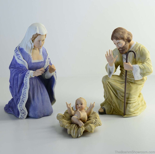 Boehm Nativity Holy Family (3 Piece) Hallmark BSB123D