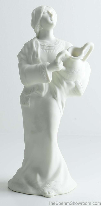 Boehm Nativity Water Jar Lady Hallmark BSB17