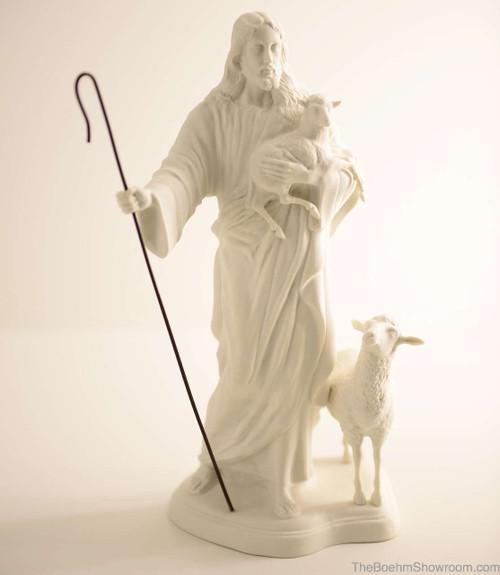 Boehm Jesus, Good Shepherd Hallmark BW50
