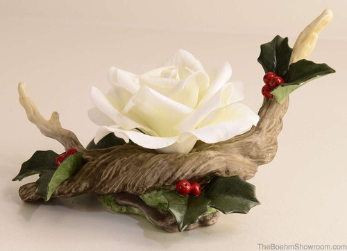 Boehm Christmas Rose Hallmark F204