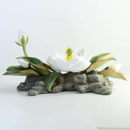 Boehm Magnolia Centerpiece Hallmark F370