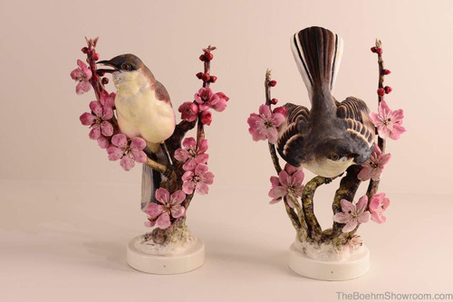 Dorothy Doughty Mockingbirds (Pair) Hallmark RW3326 & RW3327