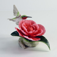 "Boehm ""Ruby Throat With Camellia"" 40434"