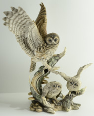 "Boehm ""Spotted Owl Family"" 10187"