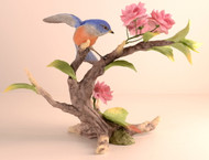 Bluebird With Cherry Blossoms 40317C