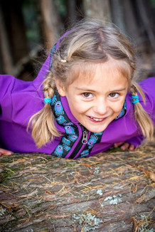 BEACHBERRY JACKET / (Softshell)  / Razzleberry, / Bear Tracks-Purple (trim)