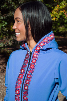 DENALI JACKET / (Softshell)  /  Twilight, / Cordova Bouquet (trim)
