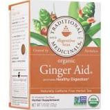Traditional Medicinals Ginger Aid Tea