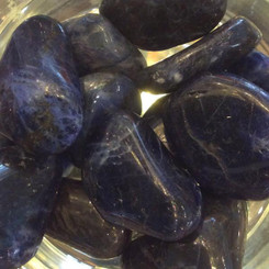 Sodalite for emotional balance, understanding, peace