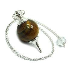 Reiki Pendulum Tiger's Eye