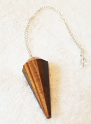Reiki Pendulum - Tigers Eye