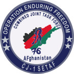 STICKER US UNIT Combined Joint Task Force 76