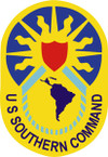 STICKER US ARMY UNIT United States Southern Command