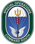 STICKER US ARMY UNIT SPECIAL OPS COMMAND SOUTH