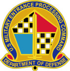 STICKER US ARMY UNIT Military Entrance Processing Command