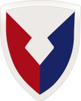 STICKER US ARMY UNIT Material Command