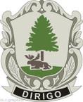 STICKER US ARMY UNIT Maine - Army National Guard