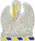 STICKER US ARMY UNIT Louisiana - Army National Guard