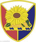 STICKER US ARMY UNIT Kansas - Army National Guard
