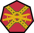 STICKER US ARMY UNIT Installation Management Command SHIELD