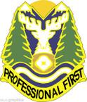 STICKER US ARMY UNIT Idaho - Army National Guard