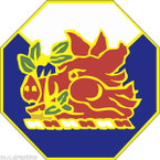 STICKER US ARMY UNIT Georgia - Army National Guard