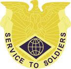 STICKER US ARMY UNIT Finance Command - LEFT