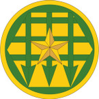 STICKER US ARMY UNIT Corrections Command SHIELD
