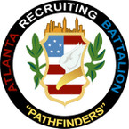 STICKER US ARMY UNIT Atlanta Recruiting Battalion