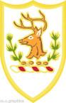 STICKER US ARMY UNIT ARNG - Vermont