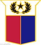 STICKER US ARMY UNIT ARNG - TEXAS