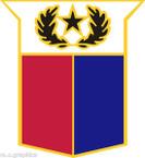 STICKER US ARMY UNIT ARNG - TEXAS