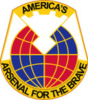 STICKER US ARMY UNIT Army Materiel Command