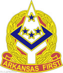 STICKER US ARMY UNIT Arkansas ARNG