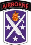 STICKER US ARMY UNIT 95th Civil Affairs Brigade SHIELD