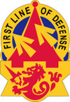 STICKER US ARMY UNIT 94TH ARMY AIR AND MISSLE DEFENSE COMMAND