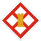 STICKER US ARMY UNIT 926th Engineer Brigade SHIELD